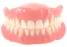 Full removable denture illustrative image