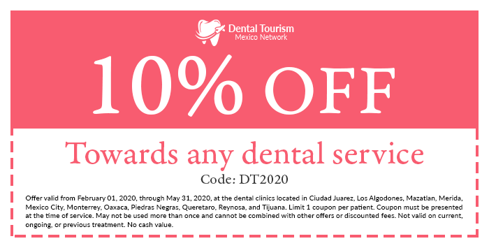Coupon to get additional savings in participating Dental Tourism clinics