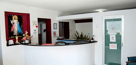 Reynosa dental clinic lobby