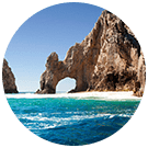 Los cabos arch rock formation
