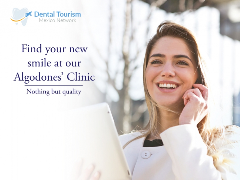 Find your new smile with our Algodones' clinic