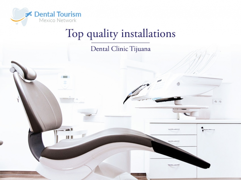 The best Dental Clinic in Tijuana is waiting for you, with Dental Tourism Mexico