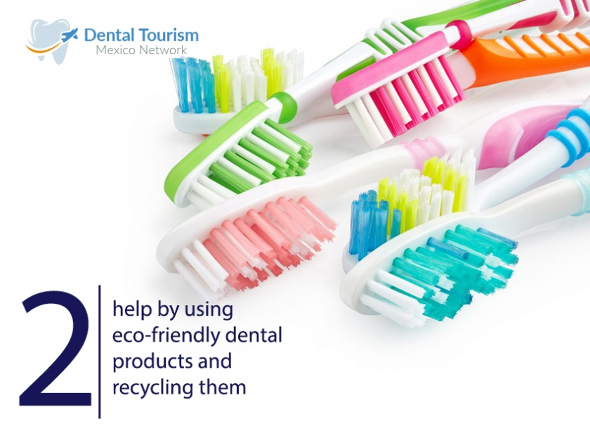 Recycle your dental products