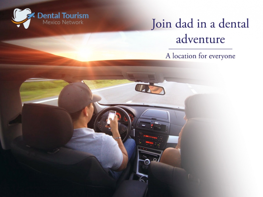 Have you dental adventure with Dad